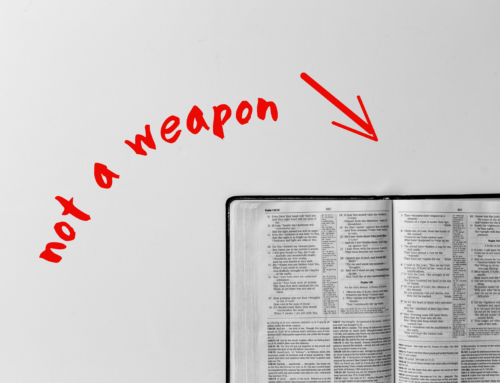 The Bible Is Not A Weapon